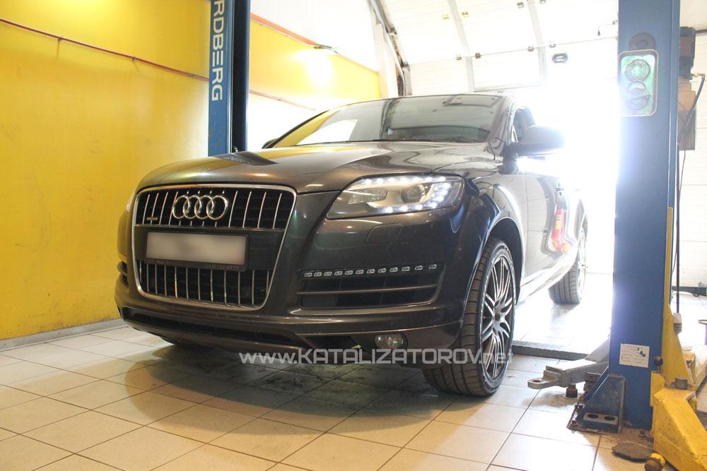 Удаление катализаторов на Audi Q7 3.6 fsi - Катализаторов.НЕТ