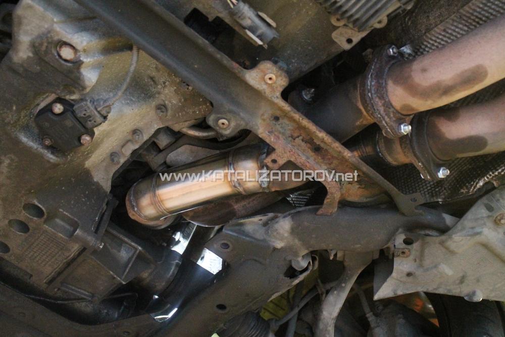 Удаление катализаторов на BMW 335i E90 N54 - Катализаторов.НЕТ