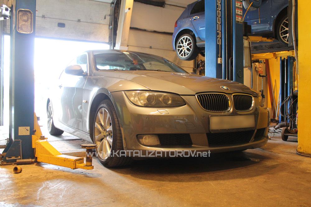 Удаление катализаторов на BMW 325i E92 - Катализаторов.НЕТ