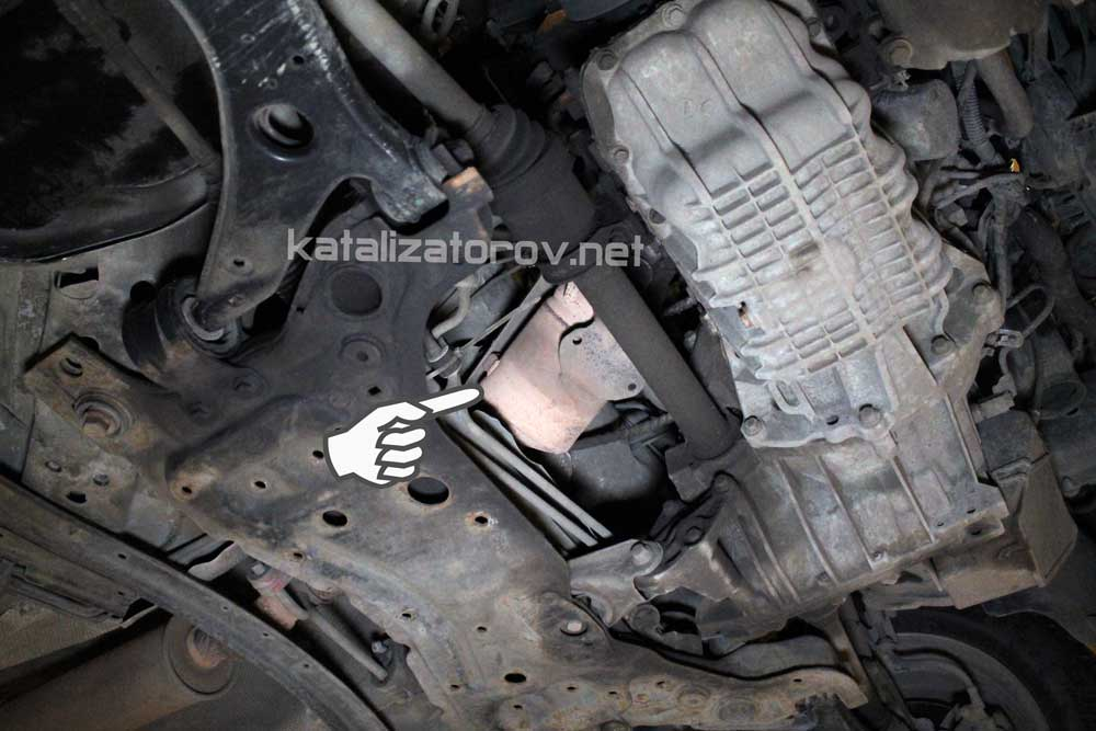 Удаление катализатора на Ford Focus 2 2.0 - Катализаторов.НЕТ
