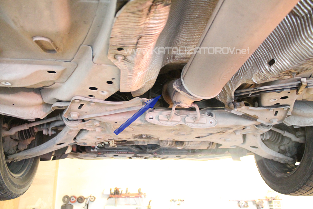 Ремонт катализатора на Ford Focus 3 1.6 - Катализаторов.НЕТ