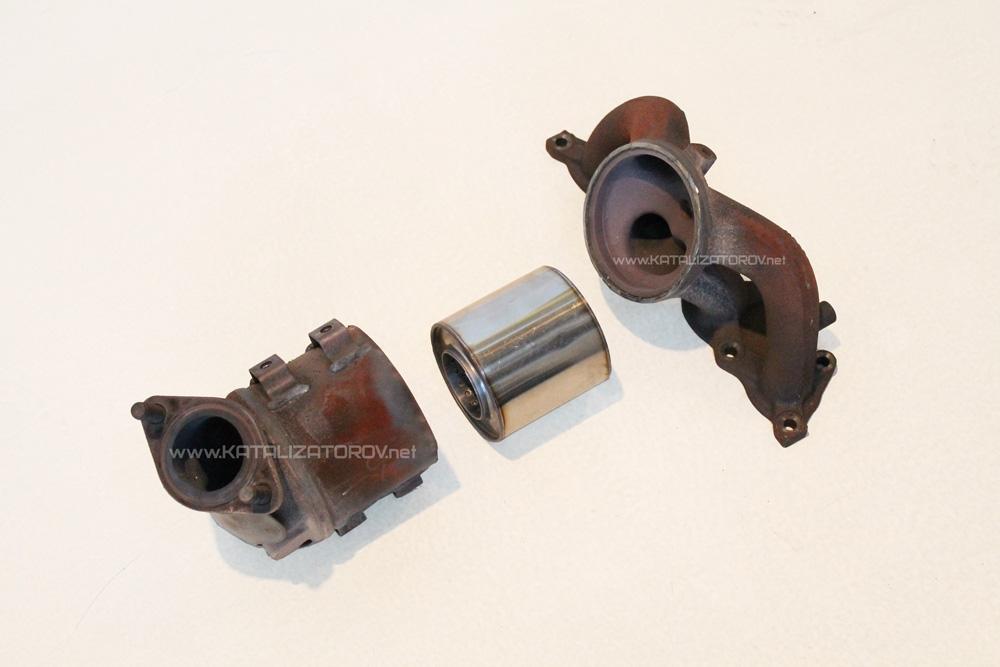 Удаление катализатора на Hyundai Solaris 1.6 л - Катализаторов.НЕТ