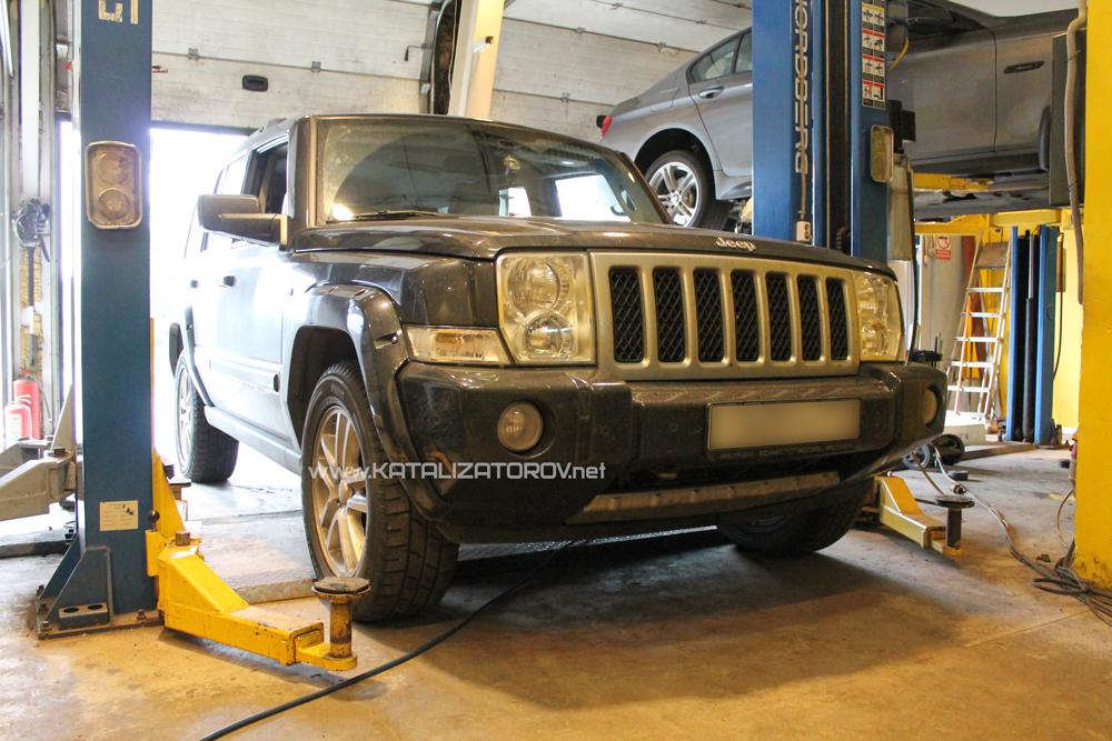 Удаление катализаторов на Jeep Commander 5,7 hemi - Катализаторов.НЕТ