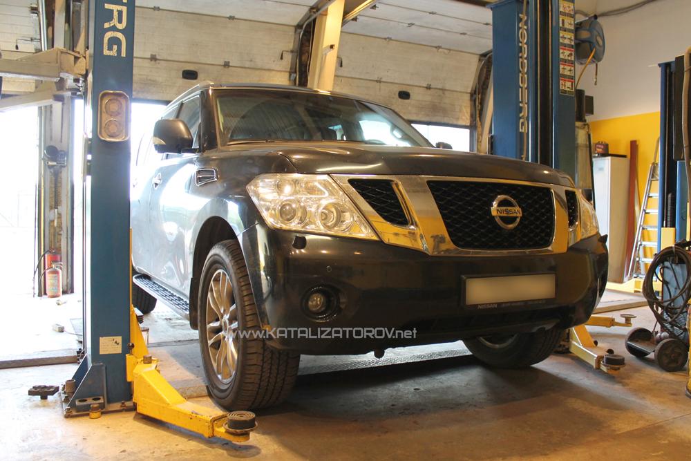 Удаление катализаторов на Nissan Patrol 5,6 л - Катализаторов.НЕТ