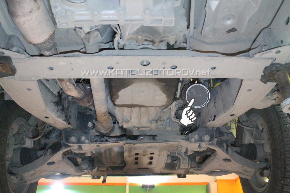Удаление катализаторов на Nissan Titan 5,6 - Катализаторов.НЕТ