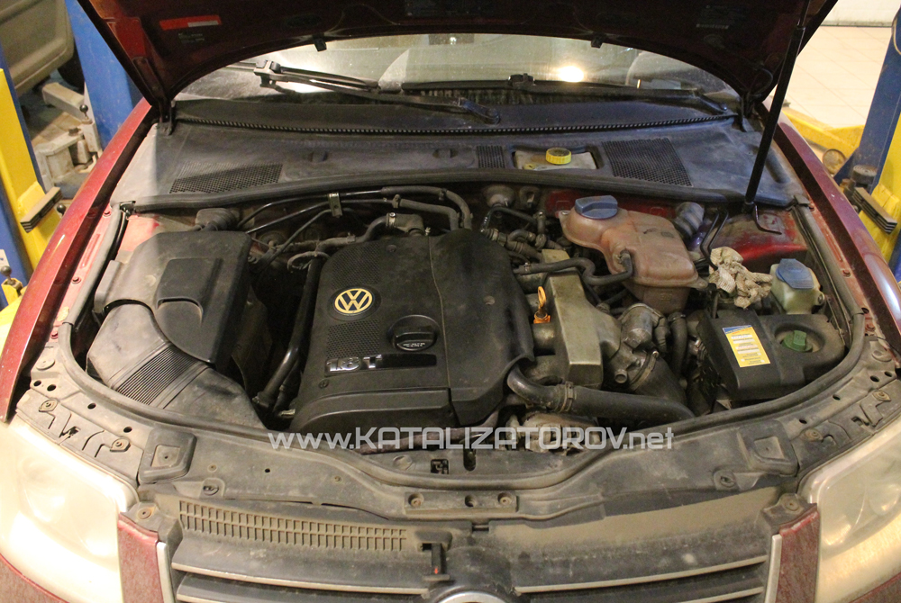 Удаление катализаторов на Volkswagen Passat 1,8T B5 - Катализаторов.НЕТ