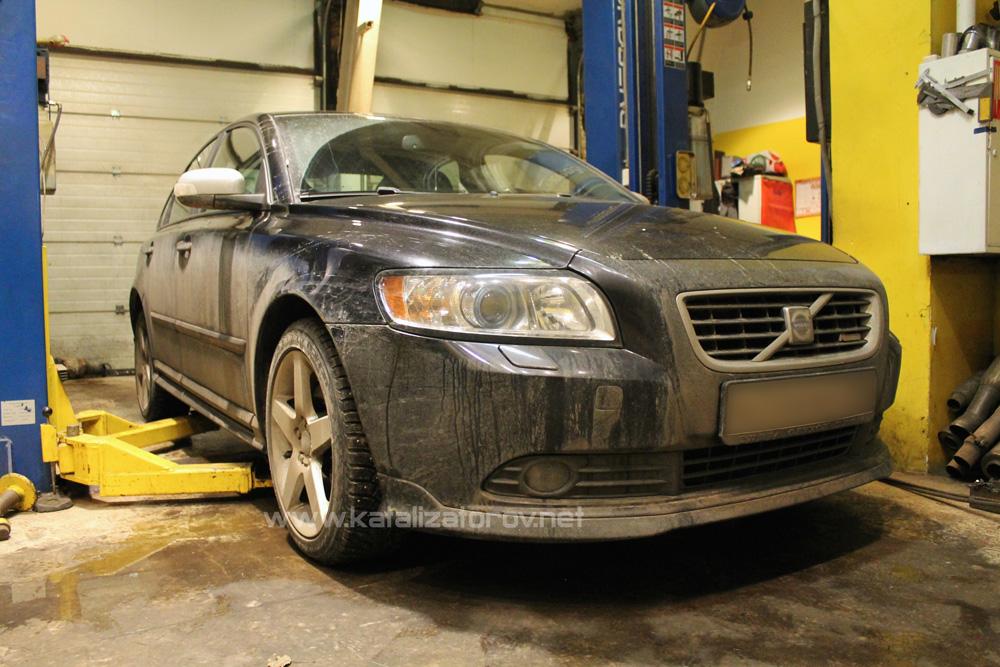 Удаление катализатора на Volvo S40 2.4 л - Катализаторов.НЕТ
