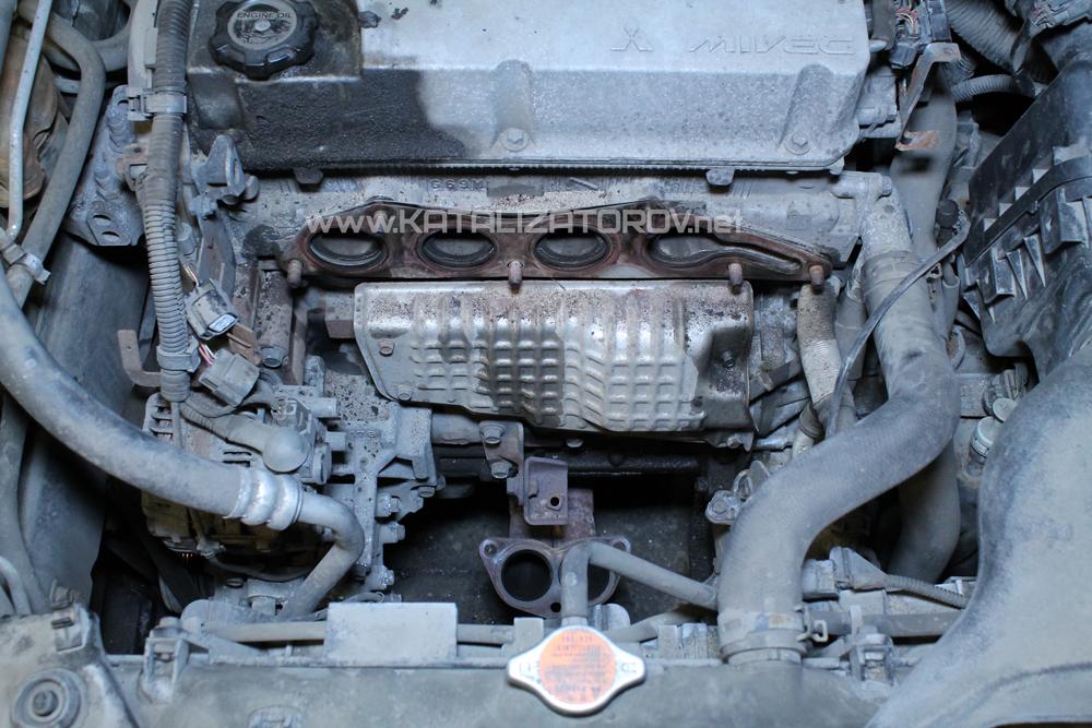 Ремонт катализаторов на Mitsubishi Galant 9 - 2,4 л - Катализаторов.НЕТ