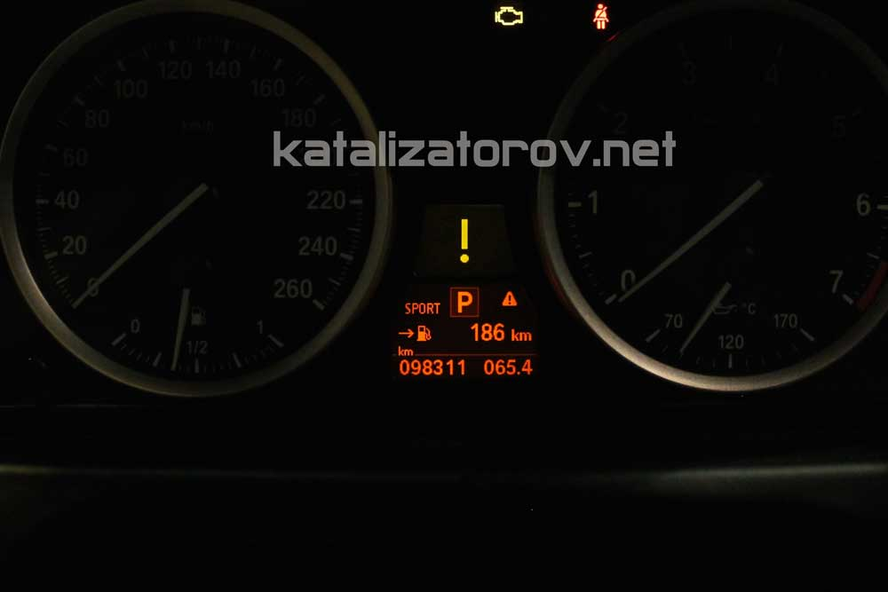 Удаление катализаторов на BMW X6 5.0i E71 - Катализаторов.НЕТ